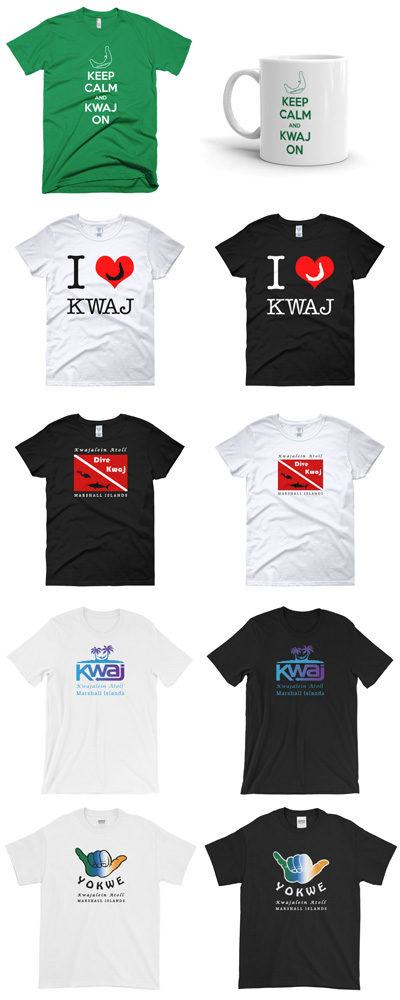 Kwaj Merchandise Designs