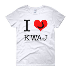 I Heart Kwaj Women's T-shirt