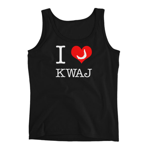 I Heart Kwajalein Women's Tank Top – Black