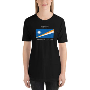 Republic of the Marshall Islands Short-Sleeve Unisex T-Shirt – Dark Colors