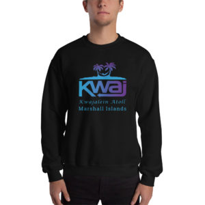 Kwaj Kwajalein Atoll Marshall Islands Sweatshirt - Black