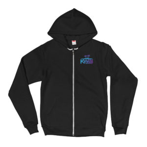Kwaj Kwajalein Atoll Marshall Islands Unisex Zip Up Hoodie