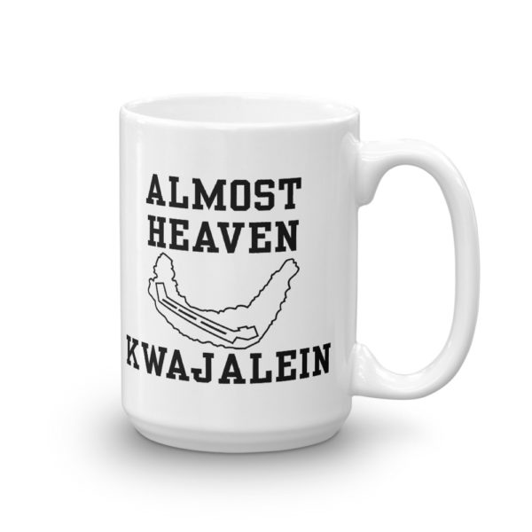 Almost Heaven – Kwajalein Coffee Mug Product Photo - Left