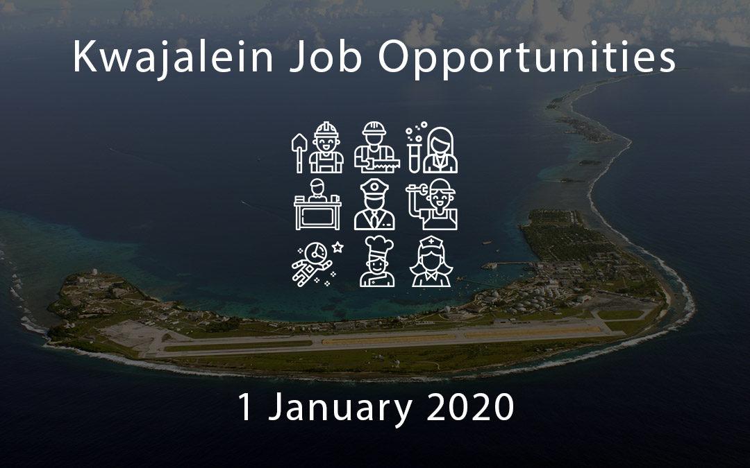 kwajalein job opportunities 1 january 2020 Blog