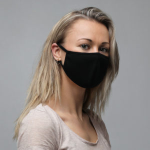 Face Mask (3-Pack, Black)