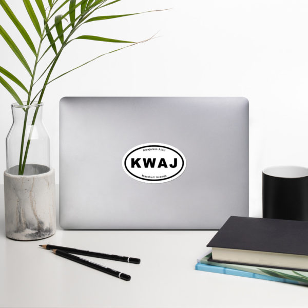 "Sticker - 4"" - Kwaj International Auto Decals"