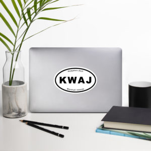 "Sticker - 5.5"" - Kwaj International Auto Decals"