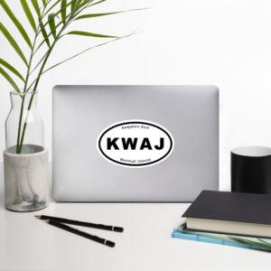 "Sticker - 5.5"" - Kwaj International Auto Decals"